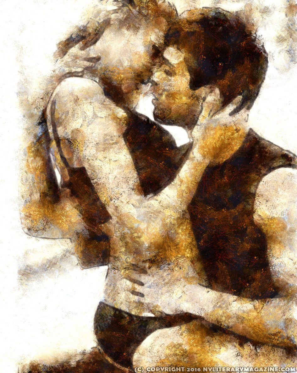 Couple Hot Kissing Artwork