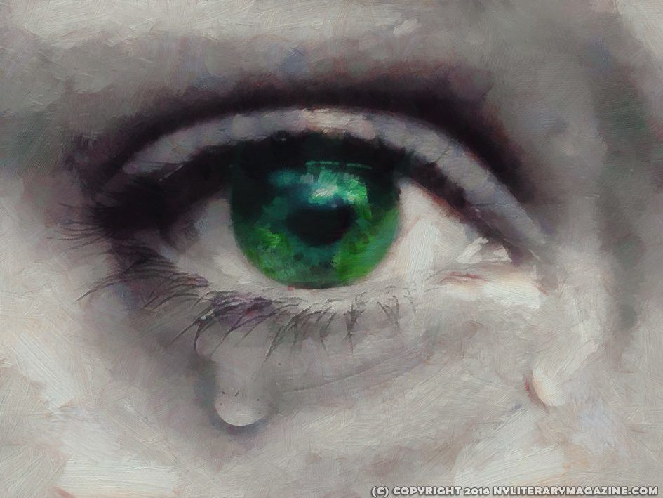 Crying Eye Painting