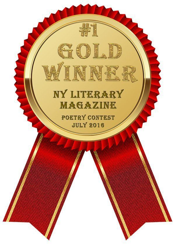 NY Literary Magazine July Poetry Contest Gold Award