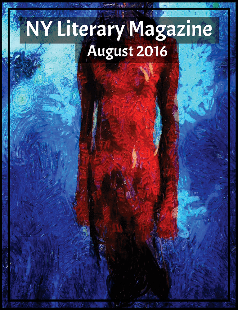 NY Literary Magazine August 2016 Anthology Poetry Magazine Cover
