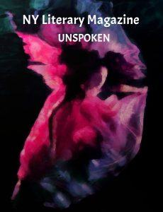 NY Literary Magazine UNSPOKEN Best Poetry Anthology Cover