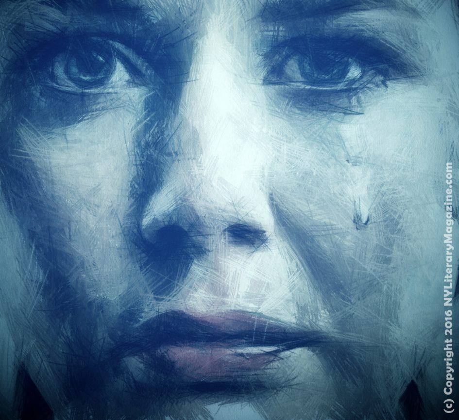 Crying Girl Digital Art Sad Poetry