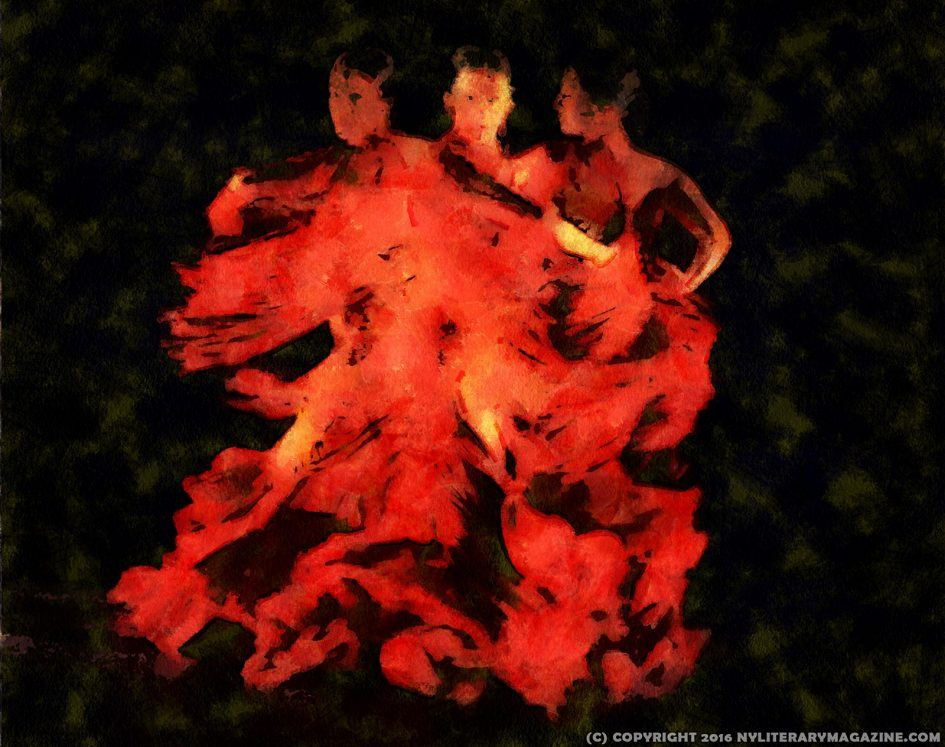 Dancing in Passions Flame Love Poetry