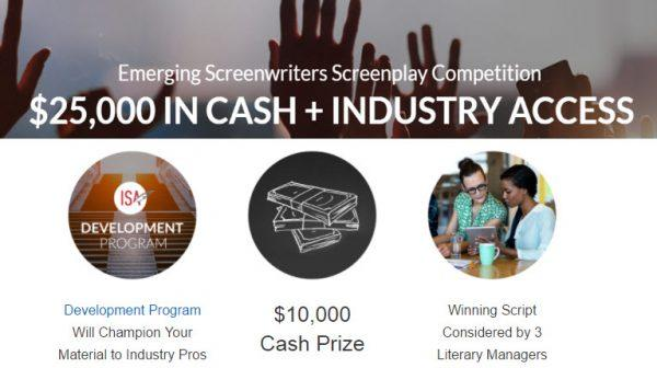 ISA Emerging Screenwriters Screenplay Competition