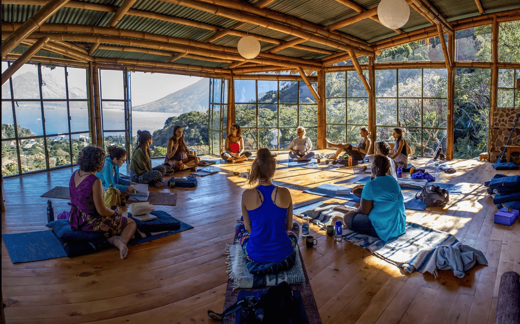 Circle with a view, Storyteller Within Retreat