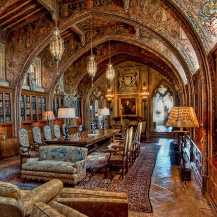 Hearst Castle Gothic Study