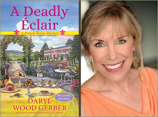 Interview with Author Daryl Wood Gerber of a Deadly Eclair