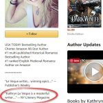 Kathryn Le Veque Amazon Author Page with Editorial Review