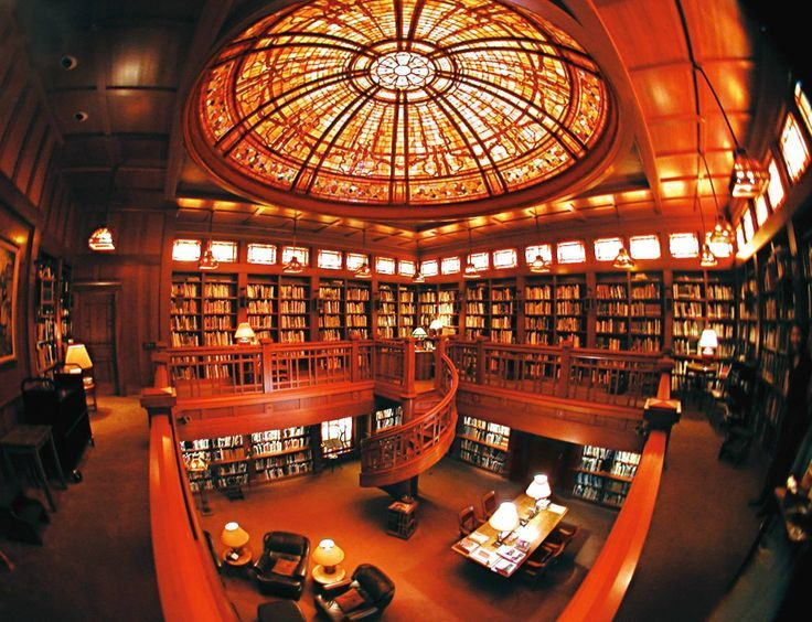 Skywalker Ranch Library