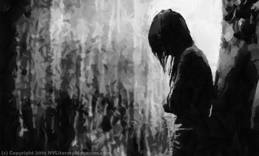 Crying in the Rain - Dark Art - NY Literary Magazine