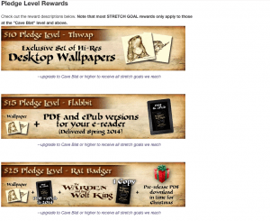 Book Crowdfunding Campaign Example, Andrew Peterson