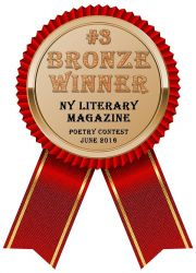 NY Literary Magazine Bronze Award Winner