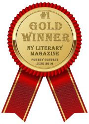 NY Literary Magazine Gold Award Winner_June