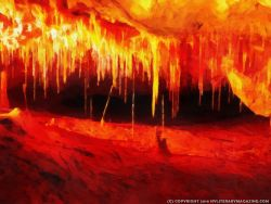 Cave of Passion Painting