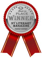 NY Literary Magazine Poetry Contest 2nd Place Winner Award